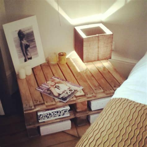 deco chambre avec palette les tables palettes récup et déco mila rosa