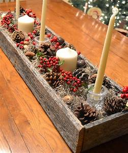 Rustic Christmas Centerpiece From A Reclaimed Pallet! - My