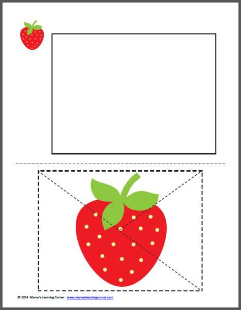 strawberry worksheets mamas learning corner