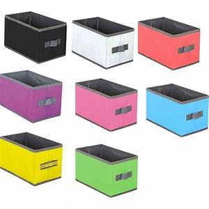 Aufbewahrungsbox Aus Stoff : homeline aufbewahrungs box stoff 15x25x15 cm verschiedene ~ Lateststills.com Haus und Dekorationen