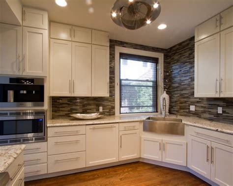 corner stainless farm sink  work design  seventy  kitchen cabinet design kitchen
