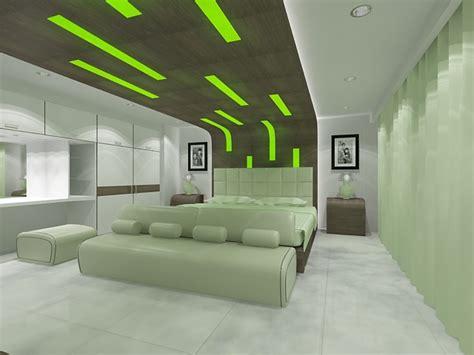 Green Bedrooms : 16 Green Color Bedrooms