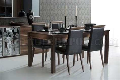 400 saginaw furniture extensol convertable brown finish modern dining table w optional items