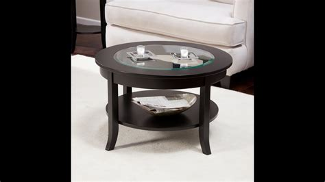 coffee tables ideas top round cool round coffee table glass top must see glass coffee
