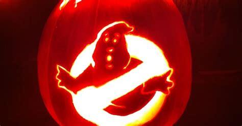 ghostbusters logo pumpkin halloween  bridgets