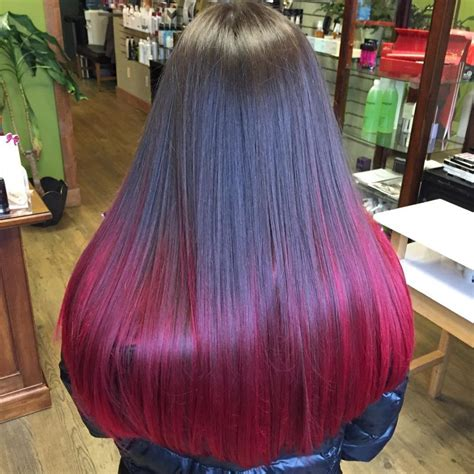 Red Ombre Hair Color 11 Free Hair Color Pictures