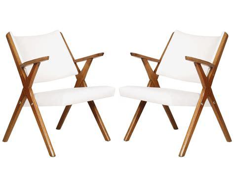 Hans Wegner & Carl Hansen Ch28 Coppia Poltroncine Design