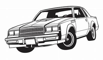 Coloring Classic Cars Colorful Adults Options Printable