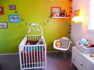 deco chambre bebe vert anis With chambre bebe vert et blanc