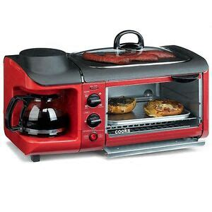 coffee maker toaster oven cooks 3 in 1 cooking center coffee maker skillet