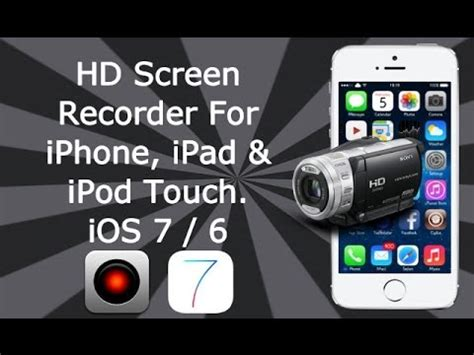 screen recorder for iphone hd screen recorder for ios 7 8 9 9 3 3 all iphone
