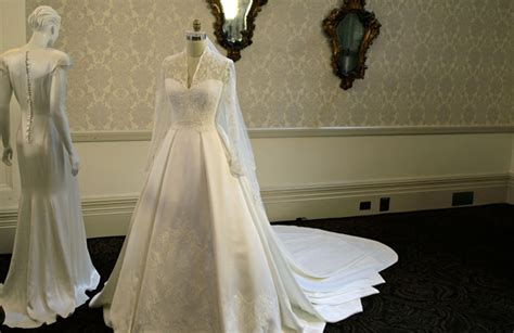 Kate's Wedding Dress On Display In Buckingham Palace