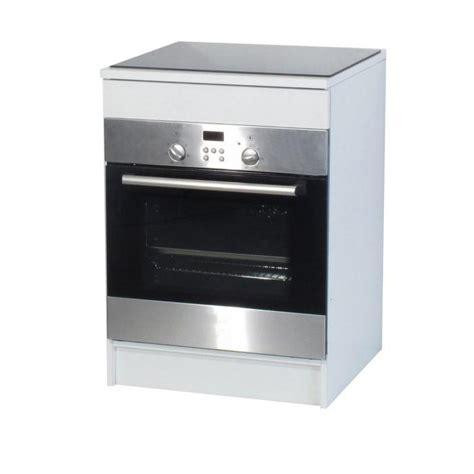 meuble cuisine four et plaque meuble bas pour plaque de cuisson cuisine en image