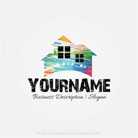 create    home painting logo design