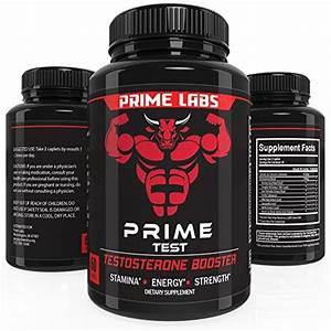 Prime Labs Mens Testosterone Supplement  60 Caplets  Natural Stamina Booster Sex