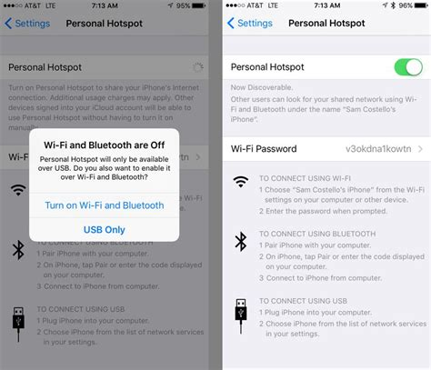 iphone hotspot how to set up and use personal hotspot on iphone