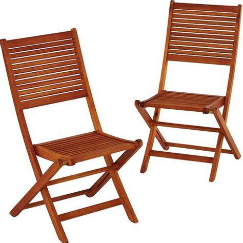 lot chaise de jardin lot de 2 chaises de jardin en bois eucalyptus trigano store