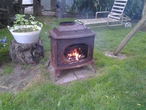 woodstove fire pits   outdoor stove outdoor