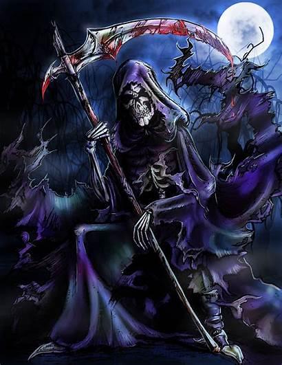 Reaper Grim Deviantart Death Skulls Badass Skull