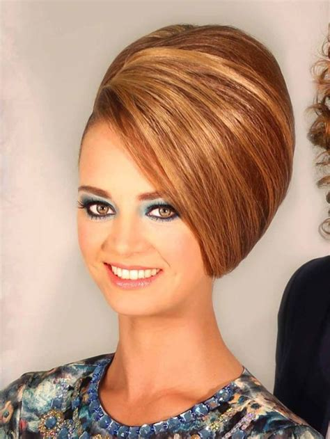 Teased Hairstyles by 128 Best Bouffant Hairdos Images On Hair Dos