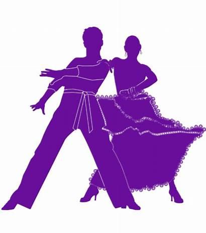 Silhouette Ballroom Dance Fortgeschrittene Dip Couple Discoteche