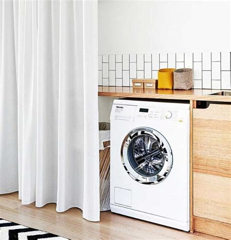 Inexpensive Laundry Room Makeovers With Floorlength