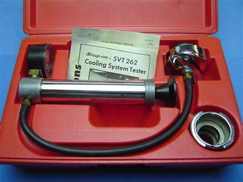 buy snap  cooling system radiator pressure tester set