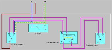 Esszimmer Le Ohne Strom by Schaltungen Tasterschaltung Wechselschaltung