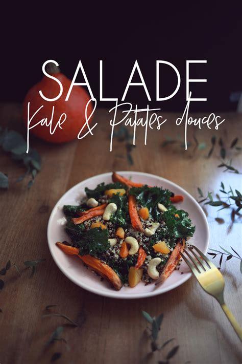 julie cuisine le monde salade kale patates douces