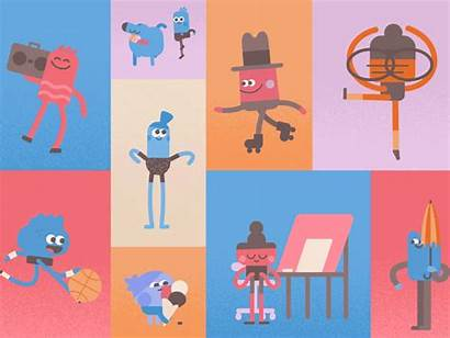 Headspace Charity Anna Dribbble Animation Character Illustration