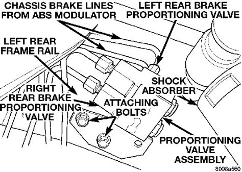 I have a 1996 dodge grand caravan and the brake lines