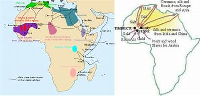 Africa Trade Routes Slave Main Goods Middle