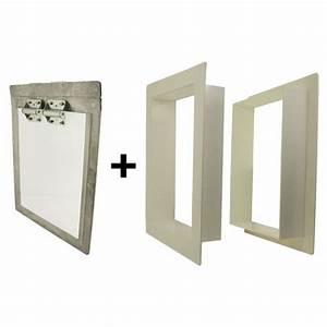 gun dog house doors heavy duty dog door w pvc wall trim With weather tight dog door