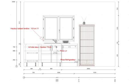dimensions plan de travail cuisine une cuisine sur mesure réalisée par simon mage