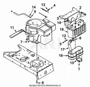 Mtd 13af675g062  2002  Parts Diagram For Engine