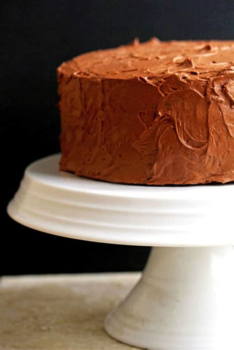 yellow cake with chocolate icing yellow cake recipe with chocolate frosting grandbaby cakes 1513