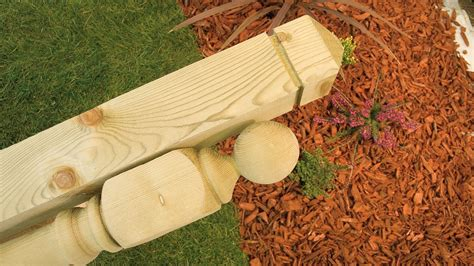 Decking Posts - Earnshaws Fencing Centres