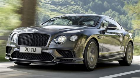 bentley continental 2018 bentley continental british luxury and muscles in