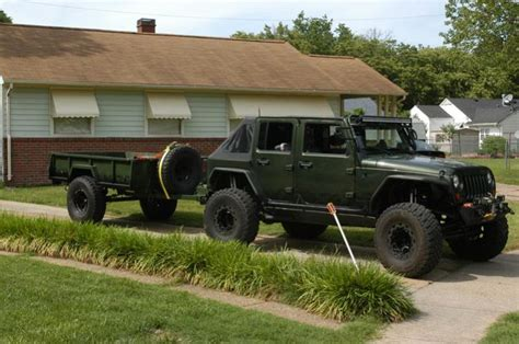military jeep trailer m101a2 dimensions google search off road cing