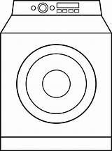 Washing Machine Drawing Washer Clipart Coloring Dryer Cliparts Clip Line Outline Wash Sketch Template Getdrawings Colour Library Sweetclipart sketch template