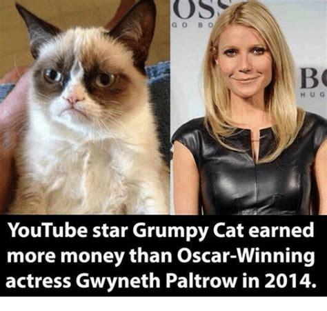 Youtube Star Grumpy Cat Earned More Money Than Oscar