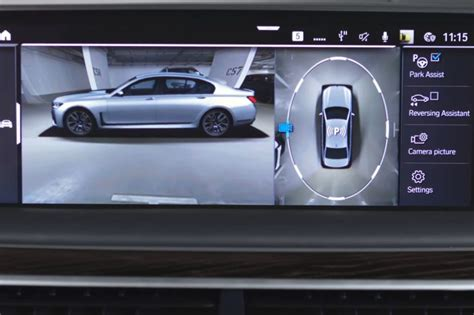 bmw surround view bmw explains how surround view cameras can be used