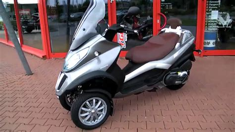 piaggio mp  lt business  rollerscooter top