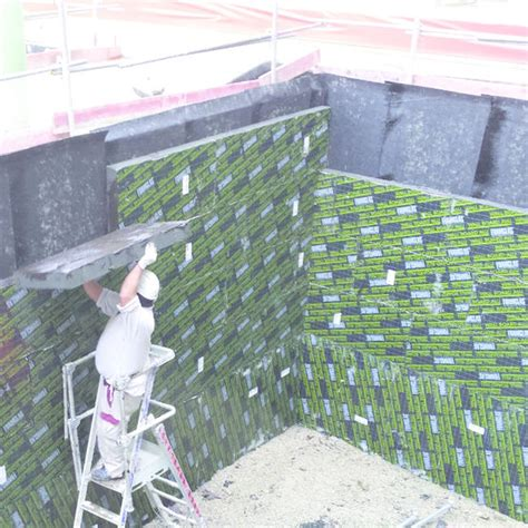 isolation par l ext 233 rieur des murs enterr 233 s pittsburgh corning