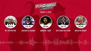Speak For Yourself Audio Podcast  8 3 2018  With Colin