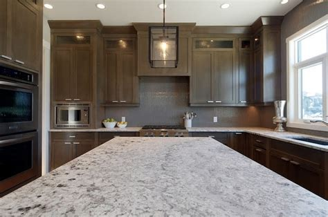 grey painted kitchens with granite countertops images