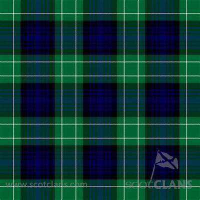Image Gallery tartan pattern