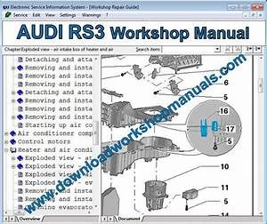 Audi Rs3 Workshop Repair Manual