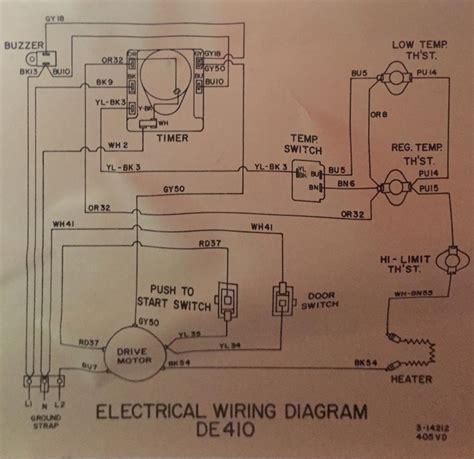 Maytag Dryer Heat Wiring Problems