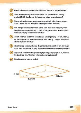 Jadwal uts atau pts dilaksanakan sesuai dengan kalender. Kunci Jawaban Buku Senang Belajar Matematika Kelas 5 ...